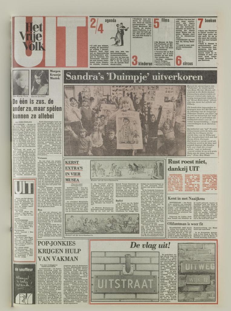 19811218 HVV Eerste Uit-katern
